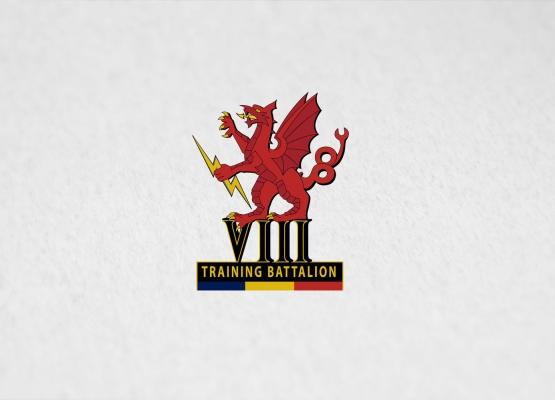 Army 8 Battalion REME emblem