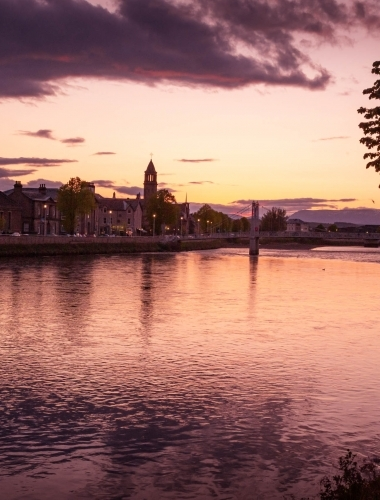 Inverness sunset, Scotland