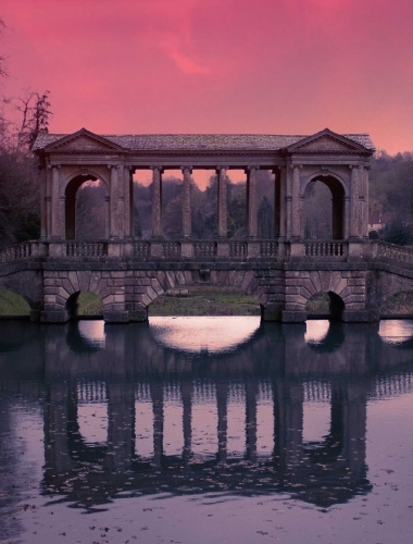 Prior Park Sunset, Bath